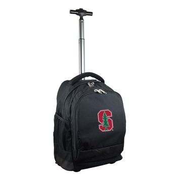 Stanford Cardinal Wheeled Premium Backpack