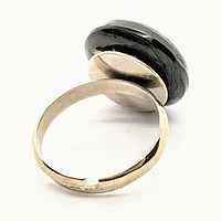 Mourning button ring 7