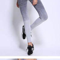 Tights sportswear yoga leggings fitness clothing women running pants elastic gym yoga pants