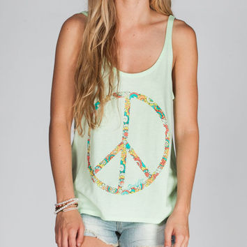 O'neill Paxe Womens Tank Mint  In Sizes