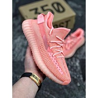 Yeezy Boost  Adidas  350 V2 Static Pink - Fashion New Best Sports Leisure Online Sale Shoes Pink