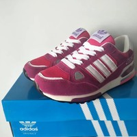 """Adidas 750"" Women Sport Casual Multicolor Stripe Sneakers Running Shoes"