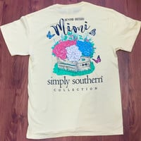 Simply Southern- Beyond Blessed Mimi Tee Pale Yellow