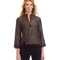 IC Collection Asymmetrical Jacket - Taupe