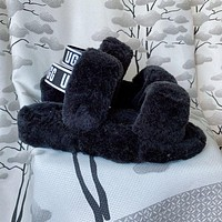 UGG new plush hollow slippers boots