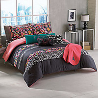 Roxy Samantha Floral Reversible Bed Set