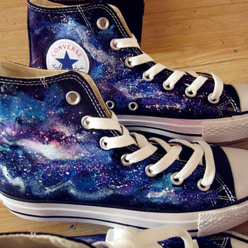 Gnarly Tees Mens Galaxy Shoes Low Top