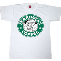 Little Mermaid Starbucks Washed Out Inspired T-shirt from ICA'STORE