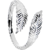 925 Sterling Silver Feather Toe Ring