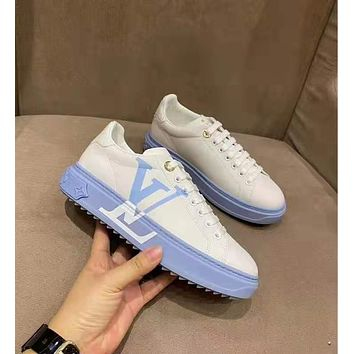 LV Fashion Men Women's Casual Running Sport Shoes Sneakers Slipper Sandals High Heels Shoes12