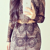 Love and Lace Two-Piece Dress (more colors)- FINAL SALE