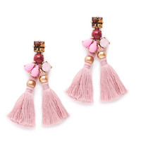J.Crew Womens Small Tassel Earrings
