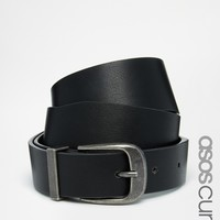 ASOS CURVE Waist & Hip Belt With Pug Tipped Detail