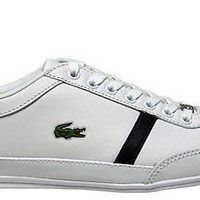 Lacoste Mens Shoes Misano Sport mag white blue