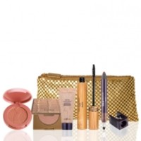 Amazon after dark: Amazonian clay color collection & gold clutch