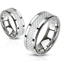 Personalize Stainless Steel Ring, Custom Mens Stainless Steel Ring, Stainless Steel Band, MMR-M2314