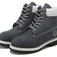 Timberland 10061 Leather Lace-Up Boot Men Women Shoes-2