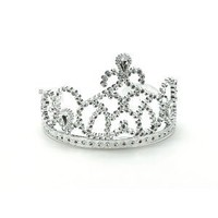 Silver Princess Tiara-set of 8