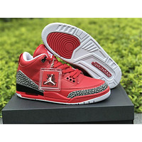 "Air Jordan 3 ""Grateful"" Basketball Shoes US8-13"