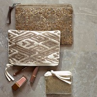 BEADED POUCHES
