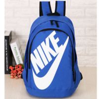 NIKE Fashion Letters Sports backpack (7 color) Sapphire Sapphire blue