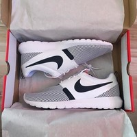 """NIKE"" Women Fashion Running Sport Casual Shoes Sneakers black dots"