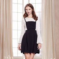 LC Lauren Conrad Runway Collection Lace Fit & Flare Dress - Women's