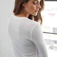 Me To We Bowery Cropped Long Sleeve Top at PacSun.com