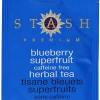 Stash Tea Company Blueberry Superfruit Herbal Tea, 100 Count Box of Tea Bags in Foil:Amazon:Grocery & Gourmet Food