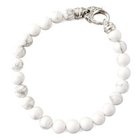 Beaded Howlite Bracelet, 8mm - Stephen Webster