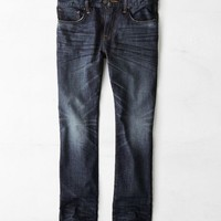 AEO Men's Slim Straight Jean (Dark Saturated)