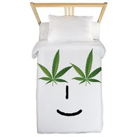 Pot Head Emote Twin Duvet> The Pot Head Emote> 420 Gear Stop