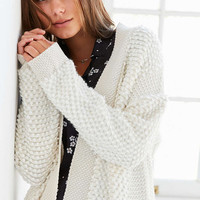 Kimchi Blue Loop-Stitch Open Cardigan - Urban Outfitters