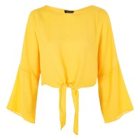 Knot Front Top | Topshop