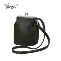 YBYT brand 2018 new vintage casual PU leather bucket bags hotsale ladies cell phone evening bag shoulder messenger crossbody bag