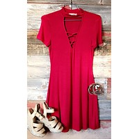 Say No More Dress: Red