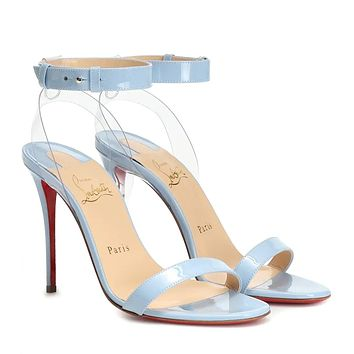CHRISTIAN LOUBOUTIN Exclusive to Mytheresa – 100 patent leather sandals