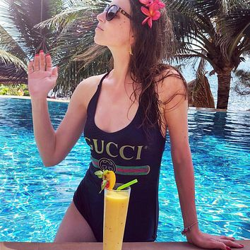 GG hot seller of sexy women's print one-piece swimsuits and fashionable bikinis
