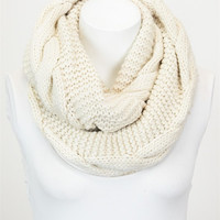 Essential Infinity Scarf - Ivory