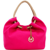 MICHAEL Michael Kors  Large Marina Canvas Shoulder Tote - Michael Kors