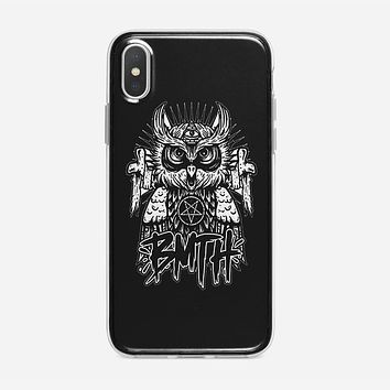 Bring Me The Horizon Logo Dreamcatcher iPhone XS Case
