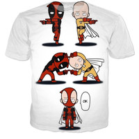 One Punch Man And Dead Pool