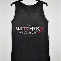 The Witcher 3 Wild Hunt Logo for Tank Top Mens and Tank Top Girls