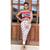 FENDI Women Movement Vest Pants Two-Piece