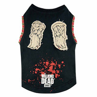 The Walking Dead Daryl's Wings Dog Shirt