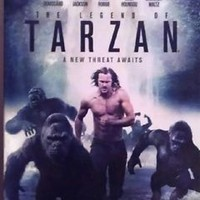 The Legend of Tarzan ( Blu-ray   DVD   Digital HD ) Slipcover - USED