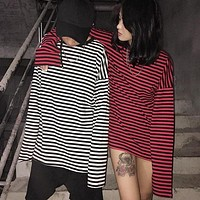 E-Boy Striped Long Sleeve Tee