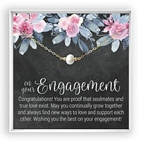 Engagement  Pearl Necklace
