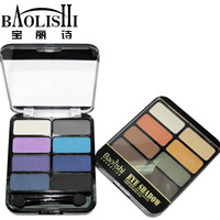 2 pcs baolishi quality professional 8colors Nude eyeshadow palette matte urban naked shadow palette natural eye makeup cosmetics