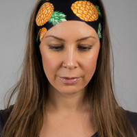 Pineapple Yoga Headband